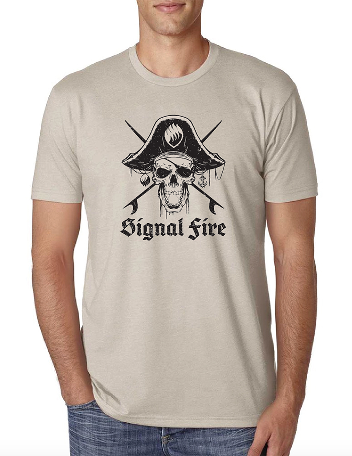 Men's Pirate ECU Shirt Sand